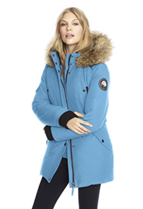Alpinetek Women's Down Parka Coat by Parkas