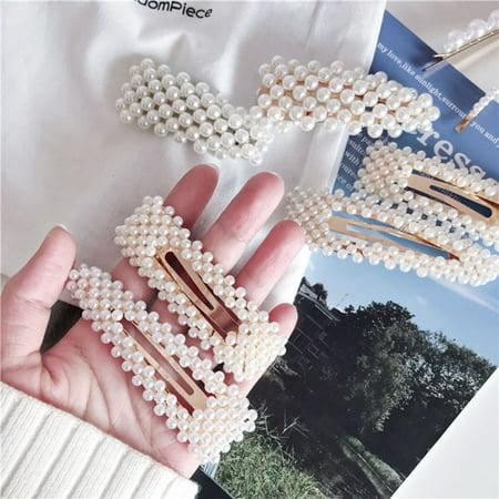 Korean Version Cute Side Folder Clip Hairpin Girls Barrettes Hair Clip Clamp - image 8 de 9