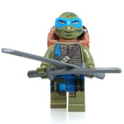 LEGO Teenage Mutant Ninja Turtles Movie Leonardo Minifigure [No Packaging]