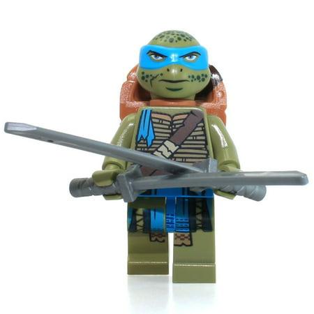 LEGO Teenage Mutant Ninja Turtles Movie Leonardo Minifigure [No