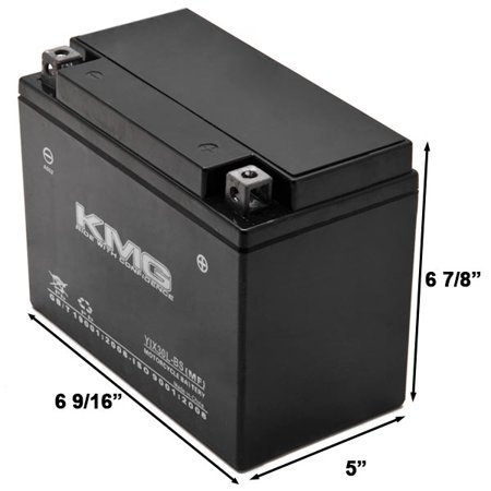 KMG YIX30L-BS Battery For Arctic Cat 1000 Prowler 1000 2010-2012 Sealed Maintenance Free 12V Battery High Performance OEM Replacement Powersport Motorcycle ATV Scooter Snowmobile Watercraft KMG - image 2 de 3