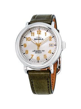Shinola The Runwell Mother Of Pearl Dial Leather Strap Ladies Watch S0120109232