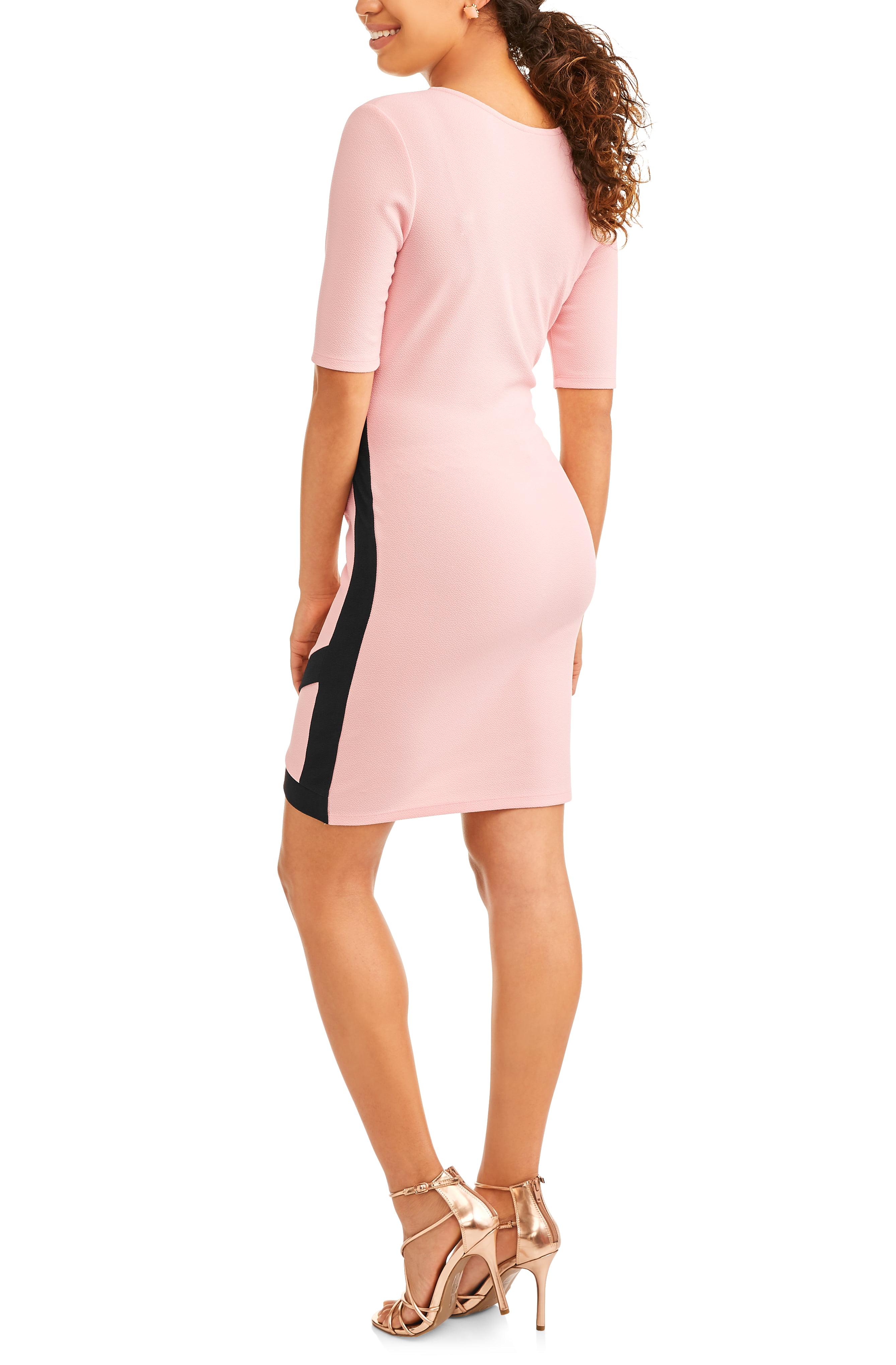 Light pink lace dress walmart