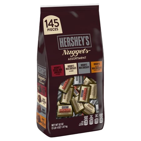 Hershey's Assorted Chocolate Nuggets, 145 Ct