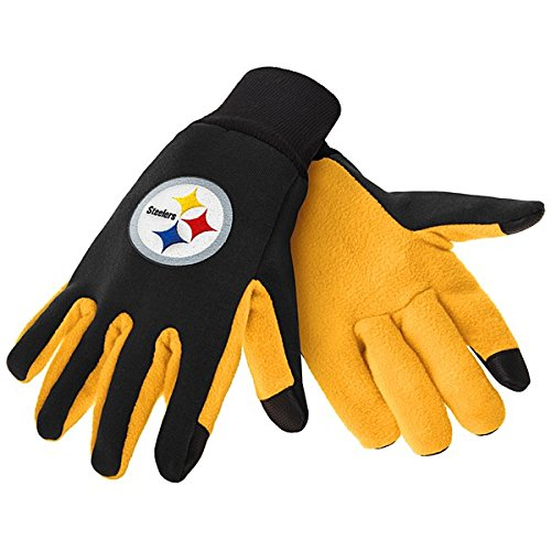 Pittsburgh Steelers Color Texting Gloves