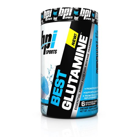 BPI Sports Best Glutamine Powder, Snow Cone, 50