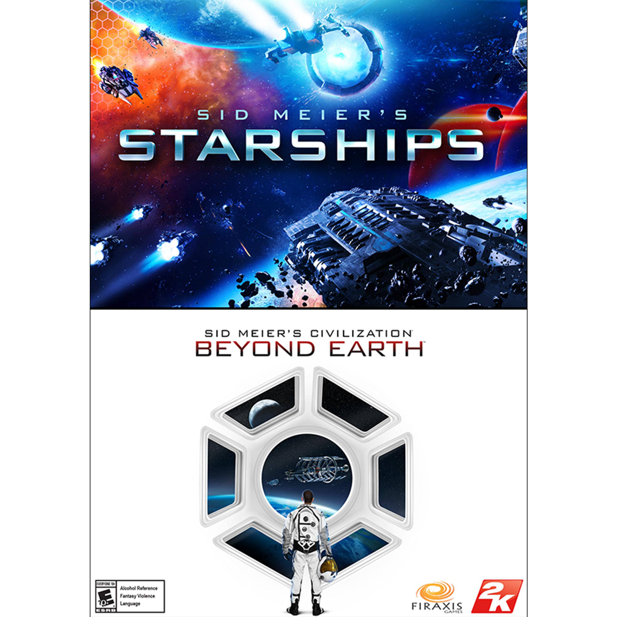 Sid Meier's Starships and Sid Meier's Civilization: Beyond Earth Bundle (PC) (Digital Download)