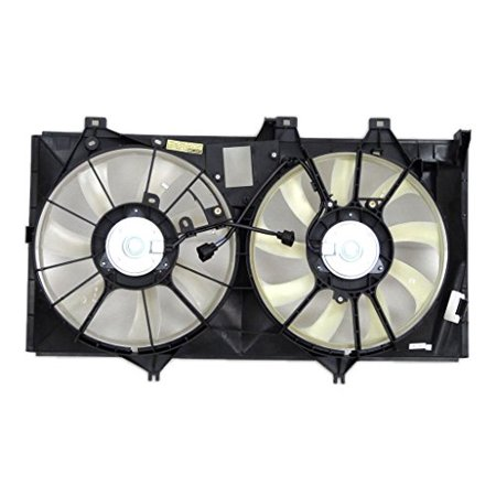Engine Cooling Fan Assembly - Pacific Best Inc For/Fit TO3115173 12-17 Toyota Camry Hybrid 13-18 Avalon