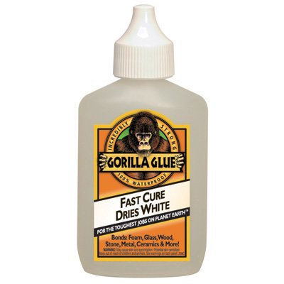 Gorilla Glue 5201205-1 Multipurpose Glue 2 oz. Dries Whte 2x - Each](Zip Dry Glue)