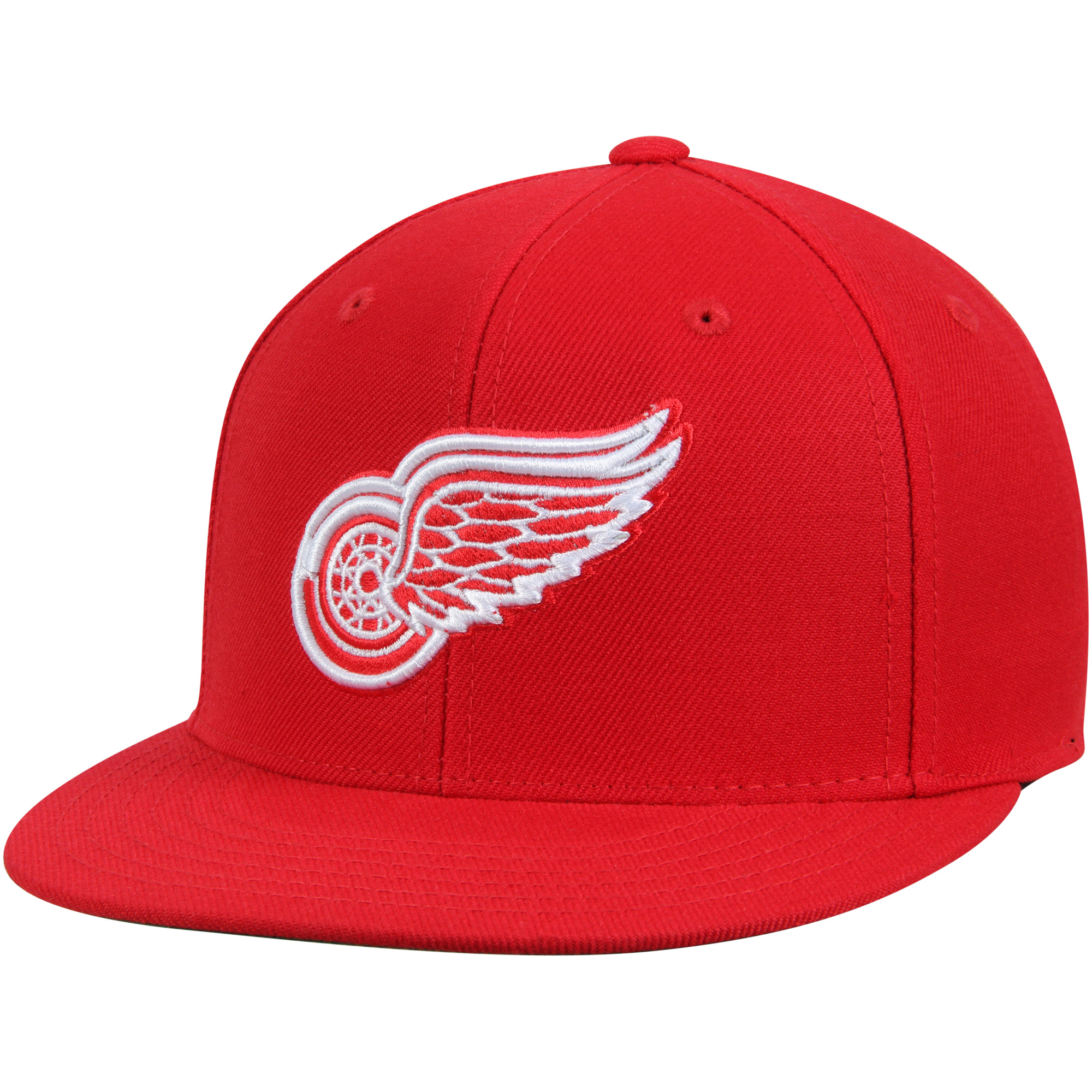Detroit Red Wings American Needle Deep Dish Fitted Hat - Red