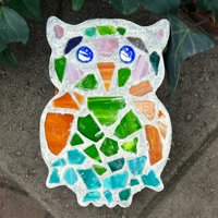 Mosaic Stepping Stone Kit-Owl