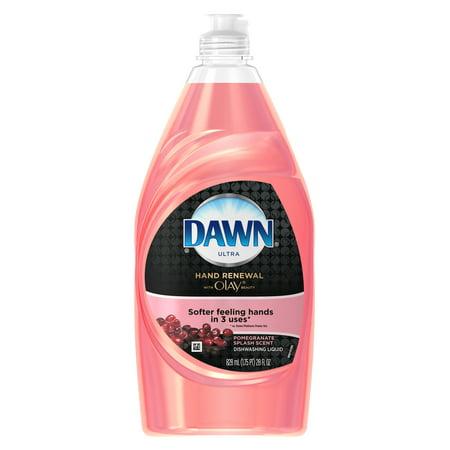 Dawn Ultra Hand Renewal With Olay Beauty Dish Soap  Pomegranate Splash  28 Fl Oz