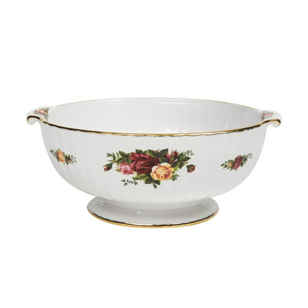 Royal Albert Old Country Roses 9-inch Fluted Serving Bowl ()