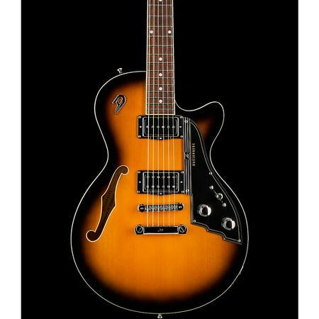 Duesenberg USA Starplayer TV Stoptail Semi-Hollow Electric Guitar 2-Tone Sunburst Usa Sunburst Guitar