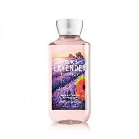bath & body works french lavender & honey shower gel 10 oz/295g ()