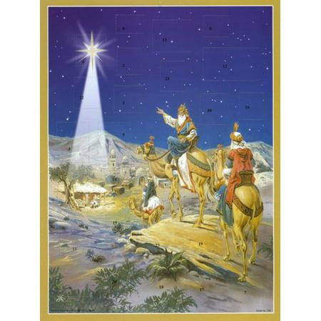 Three Kings German Advent Calendar Wisemen Christmas Countdown Bible Verses Three Kings Wisemen