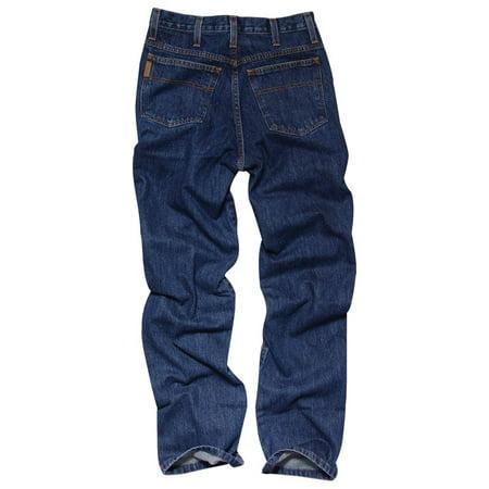 698bb2d0 Cinch Apparel Mens Bronze Label Slim Fit Dark Stonewash Jeans - Walmart.com