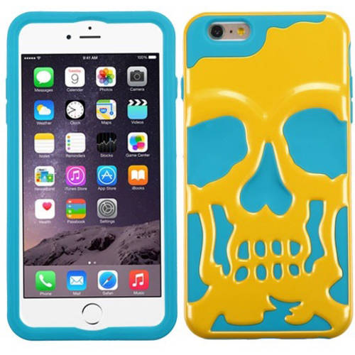 Apple iPhone 6 Plus/iPhone 6S Plus MyBat Skullcap Hybrid Protector Cover