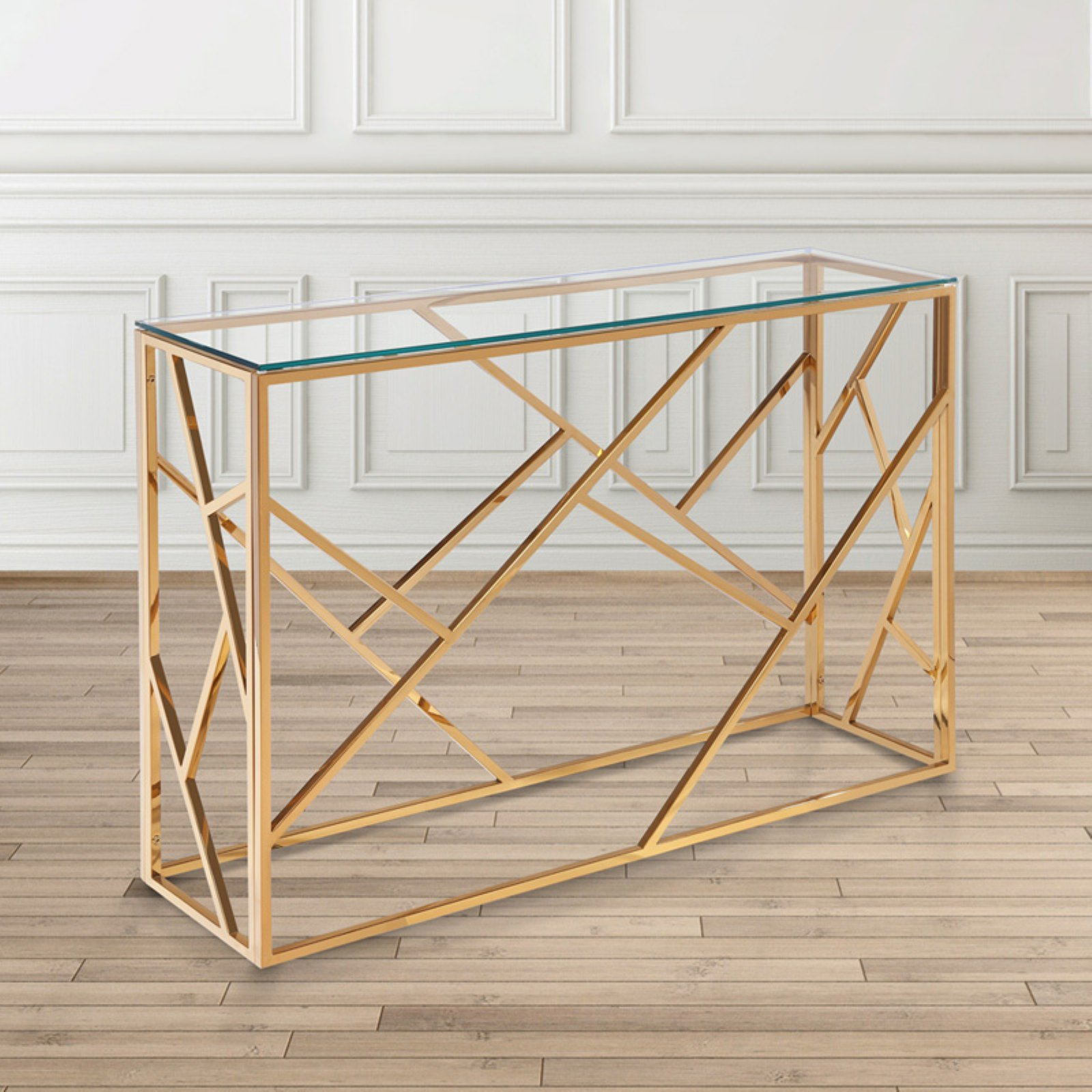 Uptown Club Kingston Console Table-G