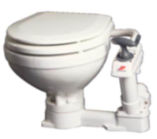 Mayfair/Johnson Pump 189-804722901 Compact manual toilet