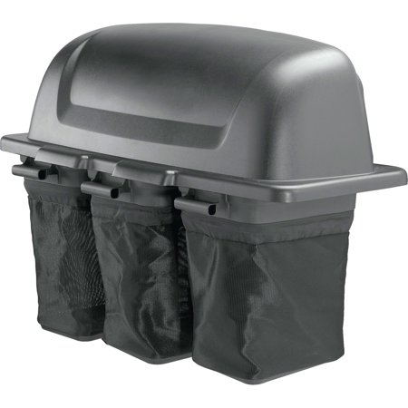 - Poulan Pro 48 in. 2-Bin Soft-Sided Bagger/Collector