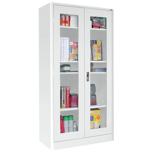 Sandusky Cabinets Elite Radius Edge 2 Doors Storage Cabinet