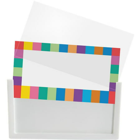 Universal Basket And Bin Label Holders With (Acrylic Label Holders)