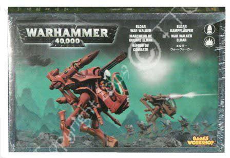 Games Workshop Eldar Warwalker Warhammer 40k by Games Workshop