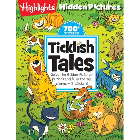 Ticklish Tales : Solve the Hidden Pictures® puzzles and fill in the silly stories with stickers! (Halloween Fill In The Blank Stories)
