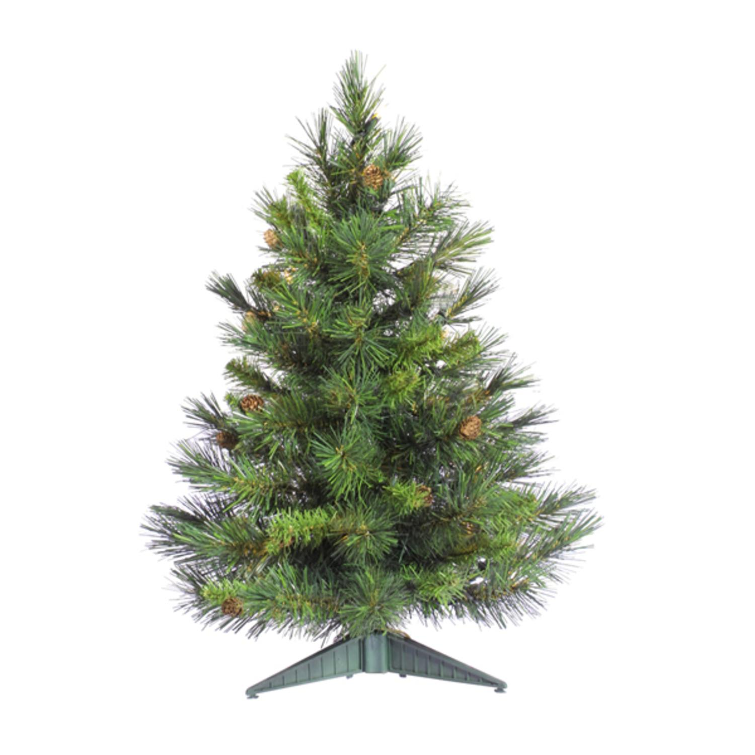 2' Cheyenne Pine Artificial Christmas Tree with Pine Cones - Unlit