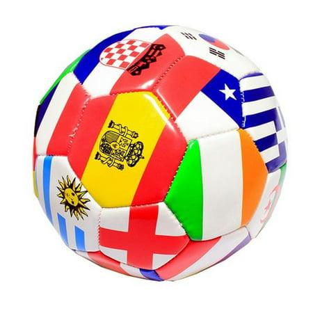 8053 Ballon d'entra-nement de plusieurs drapeaux - taille officielle 5 - image 1 de 1