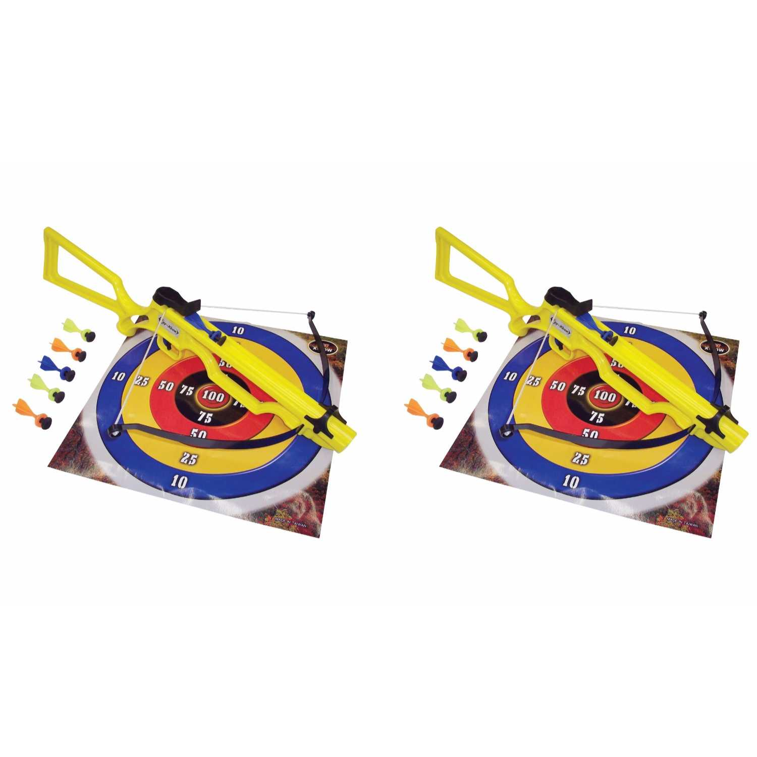 SA Sports Sniper Toy Crossbow #568 2-Pack with 12 Safety Darts and Targets