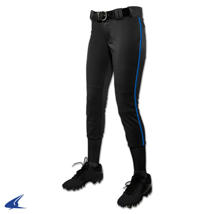 Champro Girl's Low Rise Tournament Fastpitch Pant w  Piping by Champro