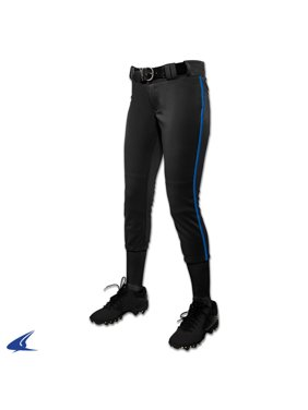 03a33e2941e9 Product Image Champro Girl s Low Rise Tournament Fastpitch Pant w  Piping. Champro  Sports