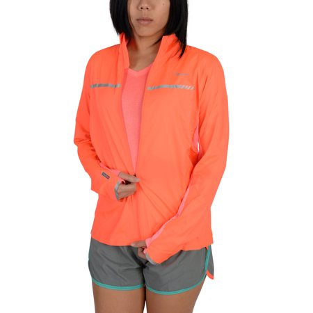 Saucony Womens Speed Of Lite Jacket Orange (Nite Lite Jacket)