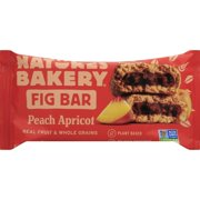 Nature's Bakery Fig Bar Peach Apricot - 2 PK