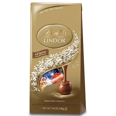 - LINDT Lindor Chocolate Assorted Truffle Bag, 19 oz