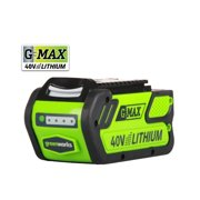 Factory-Reconditioned Greenworks 29472-RC G-MAX 40V 4 Ah Lithium-Ion Battery (Refurbished)