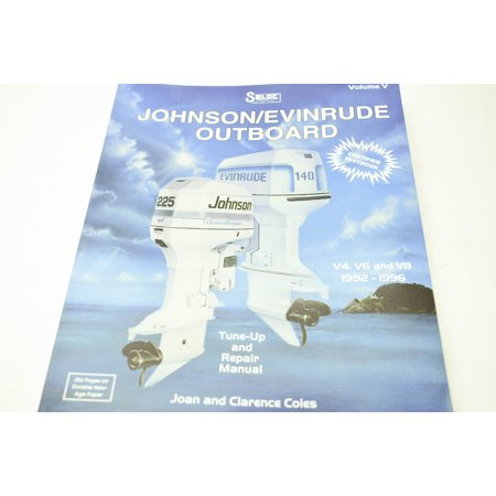 Johnson/Evinrude 0-89330-040-3 Outboard V4 V6 V8 92-96 Tune Up & Repair  Manual QTY 1