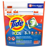 16-Count Tide Pods Liquid Laundry Detergent Pacs Original