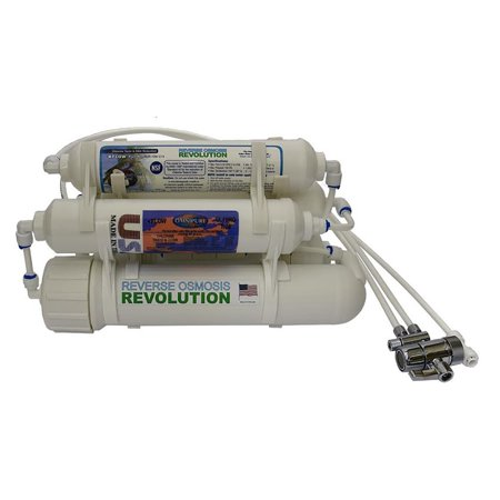 5-stage Reverse Osmosis Revolution Countertop/Portable Water Purification System for Ultrapure filtration with DI close to 0 PPM