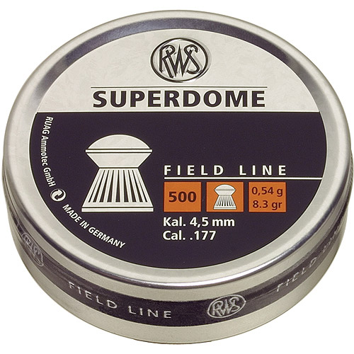 RWS Superdome .177 Pellets, Field Line