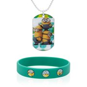 Universal Minions Bracelet and Tag Necklace Set