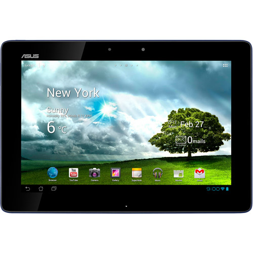 "ASUS TF300T-B1-BL with WiFi 10.1"" Touchscreen Tablet PC Featuring Android 4.0 (Ice Cream Sandwich) Operating System, Blue"