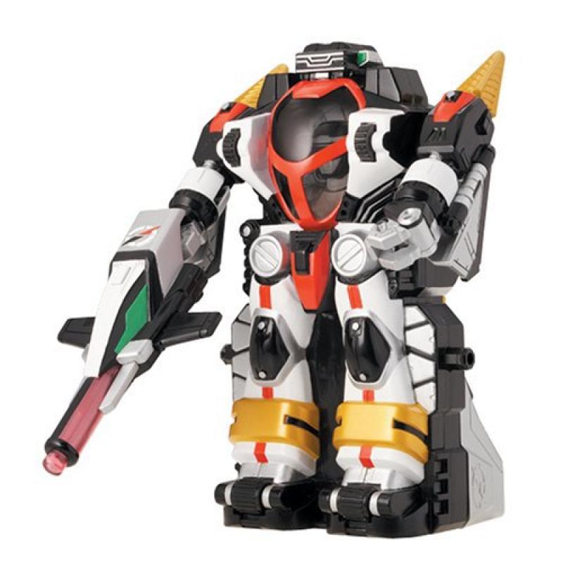 Power Rangers Operation Overdrive Black Transtek Armor Machine Action Figure Set by
