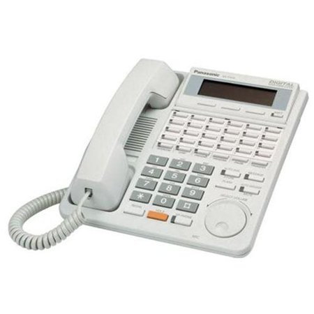 Refurbished Panasonic KX-T7433 24 Button Speakerphone With 3-Line Display White