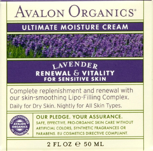 Avalon Organics Lavender Luminosity Ultimate Night Cream Avalon Organics 2 Ounce