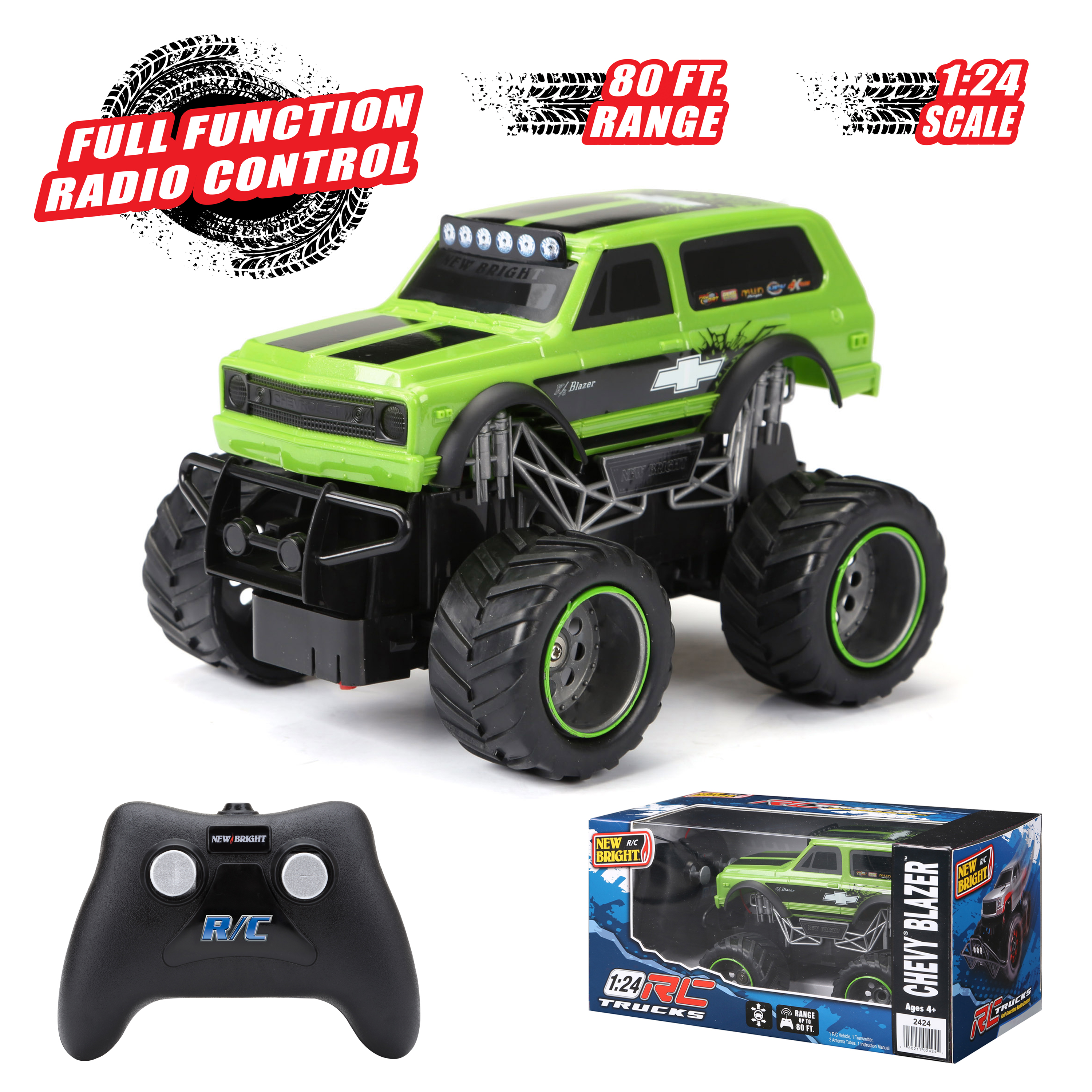 ghdonat.com RC Radio Control Truck Toy for Toddlers Kids Remote ...