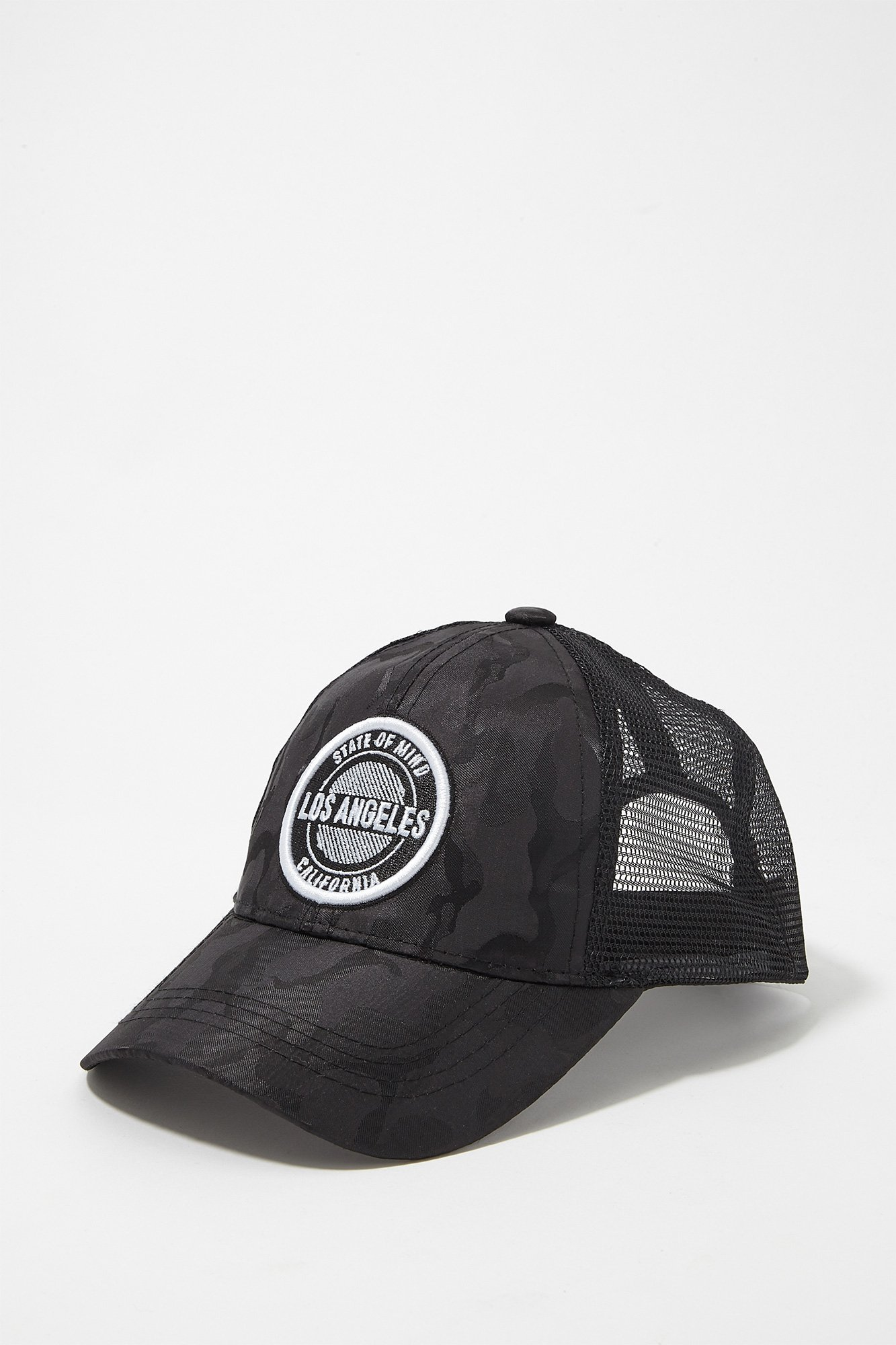 fdc9481b2d9 Urban Kids Youth Boy s Boys Camo L.A. State of Mind Snapback Baseball Hat