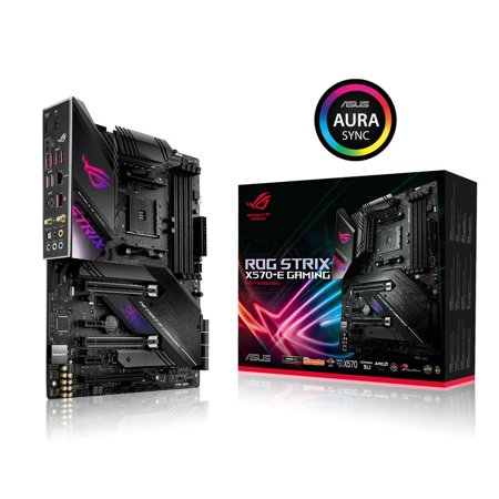 ASUS Motherboard ROG STRIX X570-E GAMING AMD Ryzen X570 Max.128GB DDR4 ATX ()